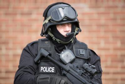 RA5001 on police man 1